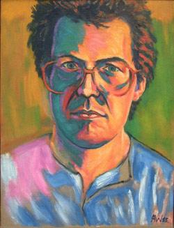 Self portrait in the style of Derain