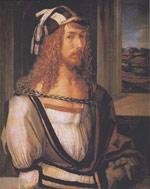 Self portrait by Albrecht Durer