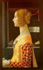 Portrait of Giovanna Tornabuoni by Ghirlandiao