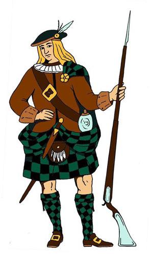 Jacobite soldier