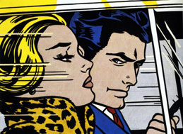 Kiss V, Roy Lichtenstein, 1964